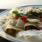 Enchiladas Verdes Recipe - I've never cooked with these fresh peppers, might be fun to try!