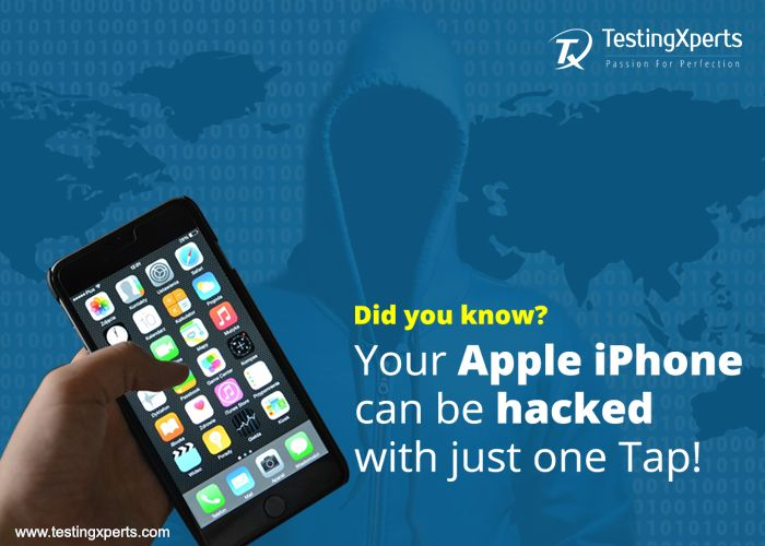 According to a recent buzz, Apple iPhone can be hacked with just one tap, due to which Apple had to release an emergency update http://goo.gl/dwsQ1i. So, have you performed rigorous security testing of your applications on mobile devices? Leverage our security testing services and ensure vulnerability-free and ready-for-business applications  http://goo.gl/C2kku0