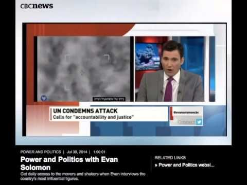 Embassy of Israel @IsraelinCanada  4h Here is video evidence of #UN rep admitting rocket fire from vicinity of #UN schools: https://www.youtube.com/watch?v=CvaZ1a9wW3Y … via @DavidGOuellette #pnpcbc