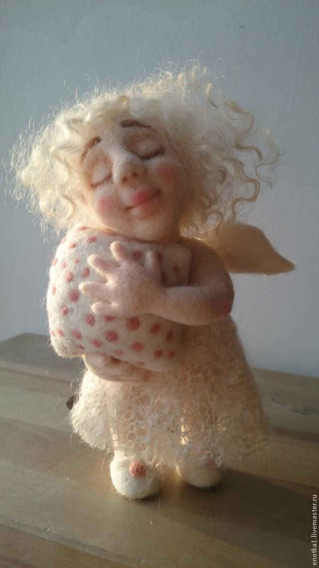 Making dolls Dremushki - Fair Masters - handmade, handmade...click on photo to get to get to website, translate to English & scroll down