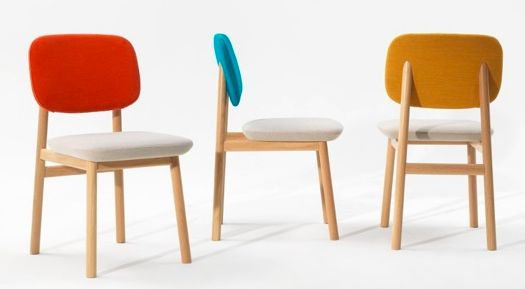 """Dining chair. Jarden. """"Sunday"""". SM. - doesn't like the white seat."""