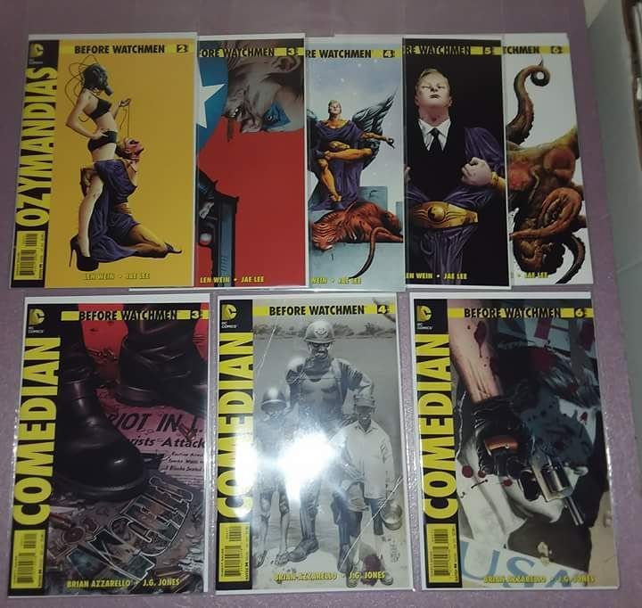 DC Comics lot x 15 BEFORE WATCHMEN Comedian Night Owl Ozymandias Minute Men | Collectibles, Comics, Modern Age (1992-Now) | eBay!
