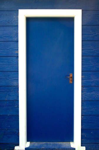 porta ... blu