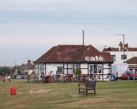 Sea View Cafe Tankerton Whitstable, they do fantastic Bacon Sarnies