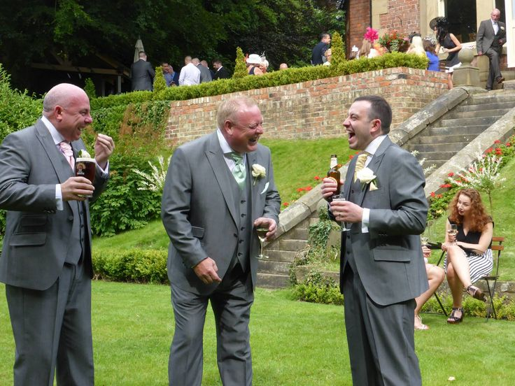 Enjoying the day. Live music for weddings in the North East & North Yorkshire by Jump The Q. www.jumptheq.info