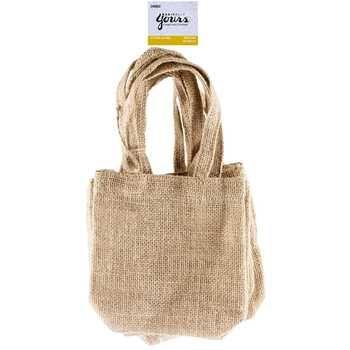 Natural Mini Jute Bags