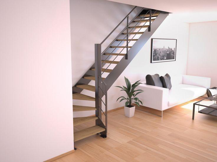 17 best ideas about escalier pas cher on pinterest escalier bois pas cher - Escalier quart tournant pas cher ...