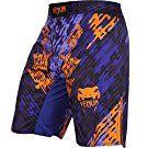 Venum Neo Camo Fight Shorts, X-Large, Blue/Orange/Black