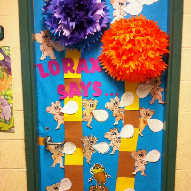 Lorax Classroom Decor : Best author s message theme images on pinterest
