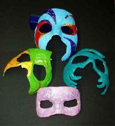 Hoe Venetiaanse masker maken voor Carnaval