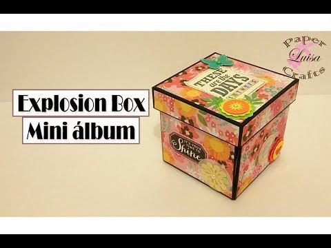 Mini Album Niña - TUTORIAL SCRAPBOOK Parte 1: Estructura | Luisa PaperCrafts - YouTube