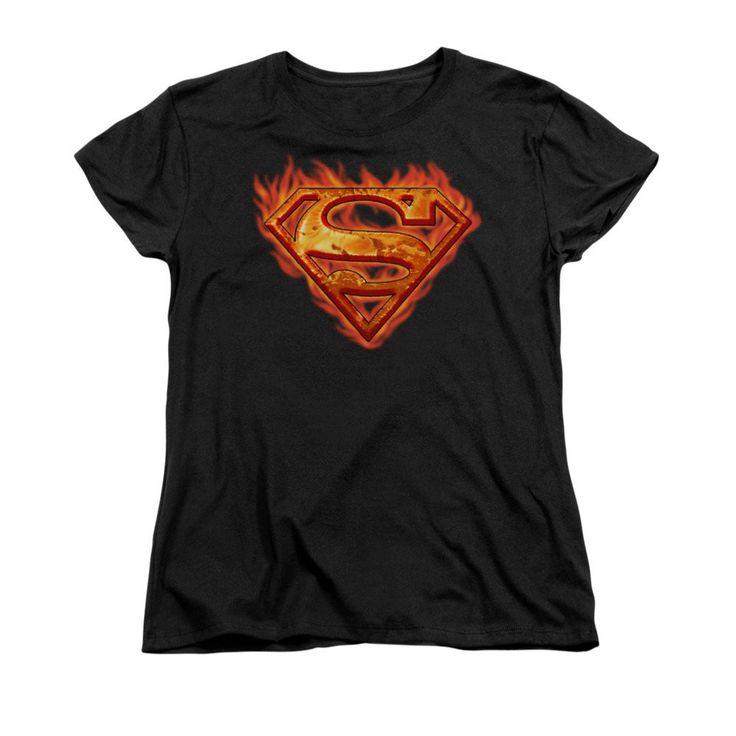 Superman - Hot Metal Women's T-Shirt