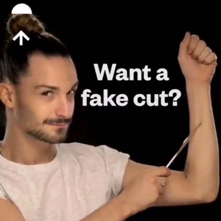 Fake cut tutorial