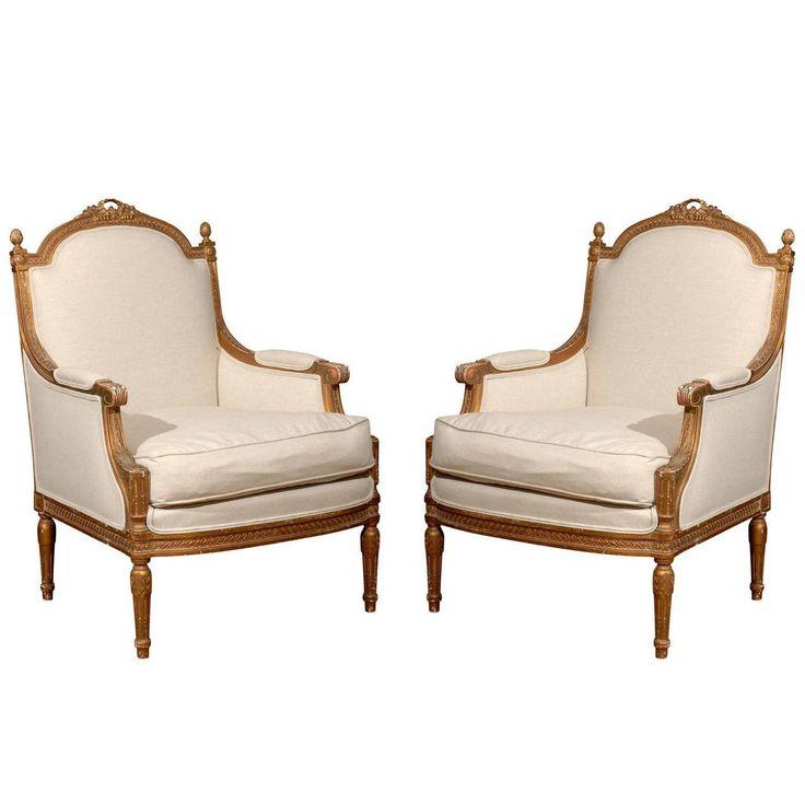 Wonderful Pair Of French Bergeres. Furniture StylesVintage Furniture19th  CenturyFurnitureClassic Furniture