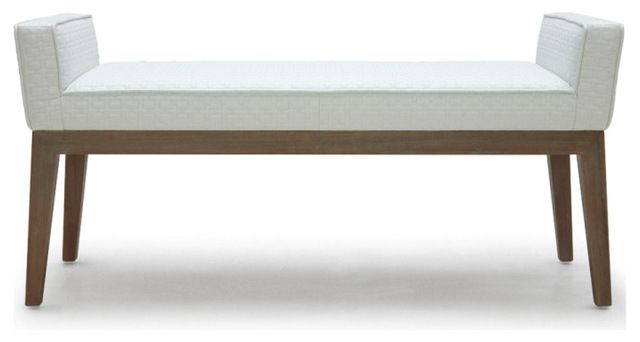 Chelsea Bench contemporary bedroom benches