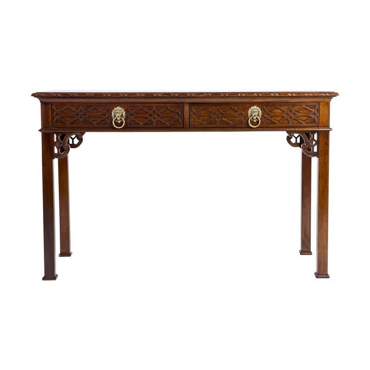 Lovely Baker Chinese Chippendale Style Console Table   $1,999 Est. Retail   $599  On Chairish.com | Asian Inspiration | Pinterest | Console Tables, Consoles  And ...