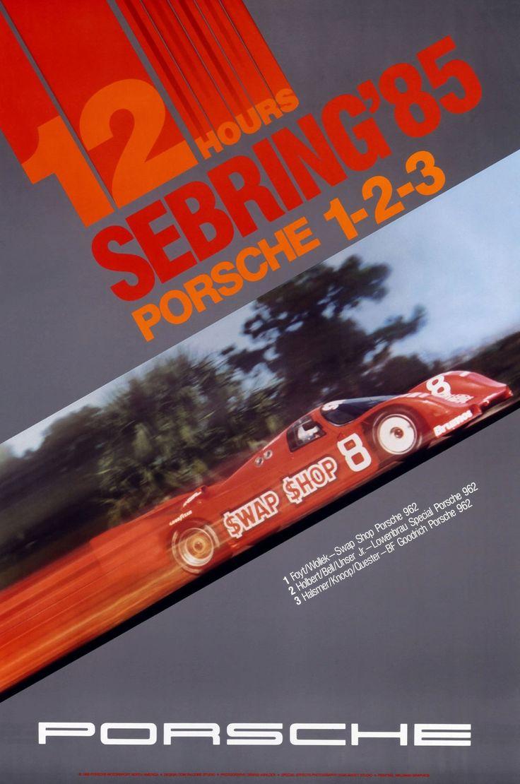 Porsche racing Sebring