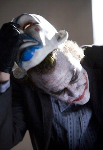 Unmasking // the Joker Heath Ledger