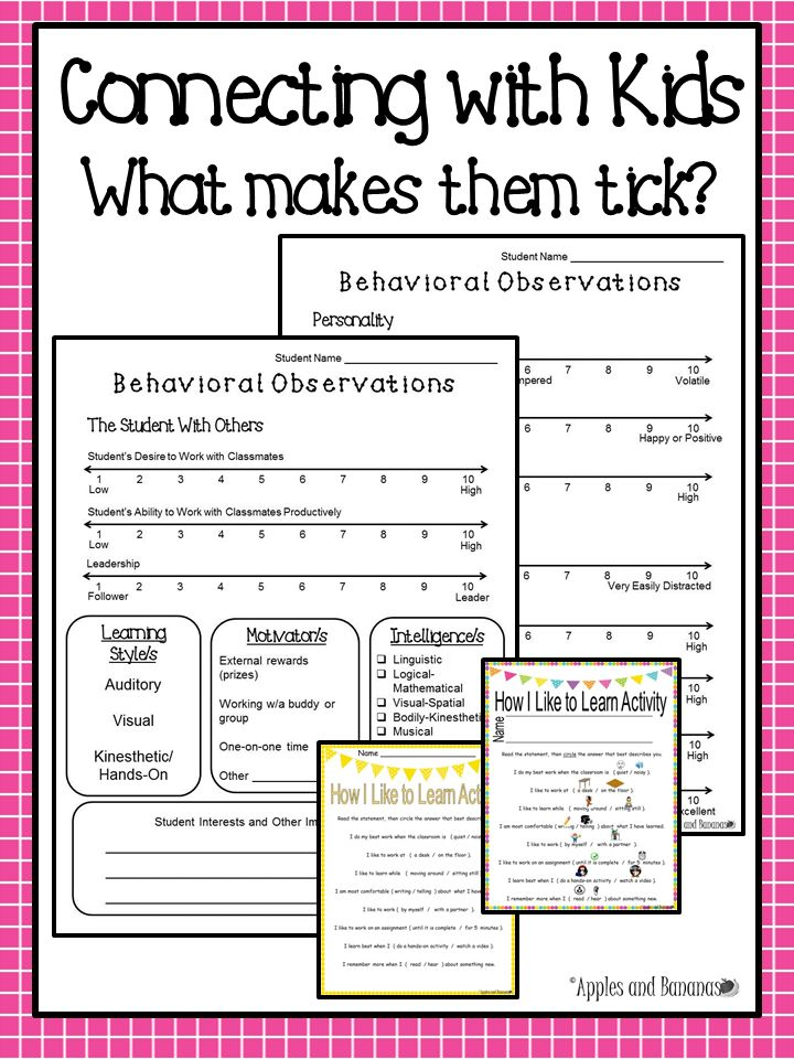 Collaborative Teaching Observation Form : Best learning style inventory ideas on pinterest