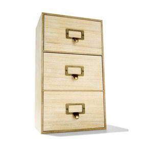 3 Drawer Storage Unit $12