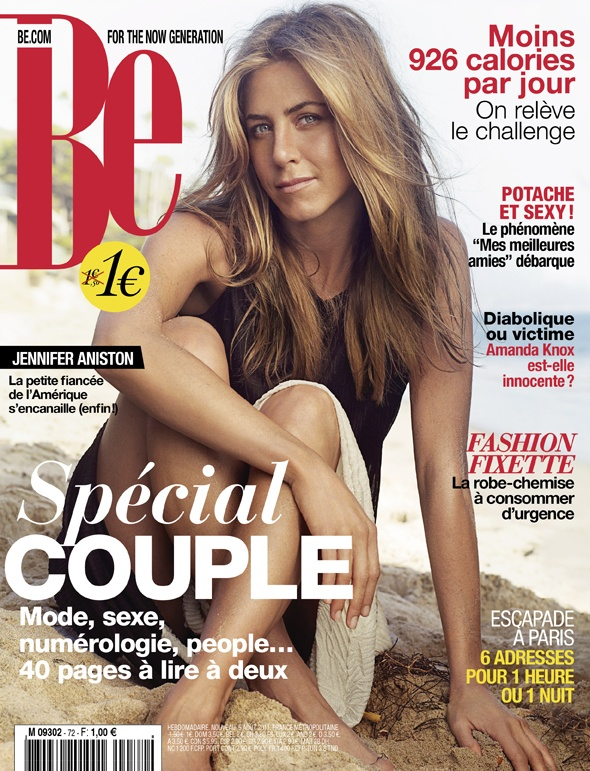 Magazine Be n°72  http://www.be.com/  Jennifer Aniston