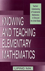 Book: Knowing & Teaching Elementary Mathematics