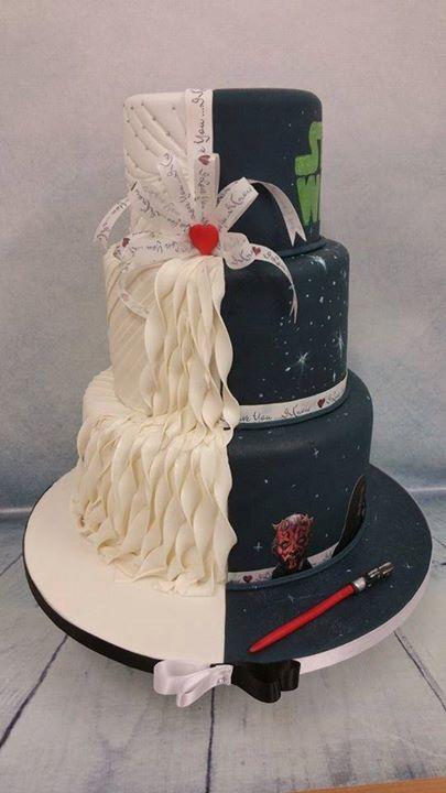 118 best star wars wedding images on pinterest star wars wedding star wars wedding cake more junglespirit Choice Image