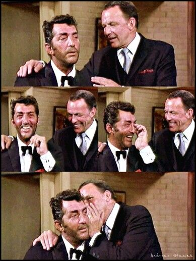 Dean and Frank on The Dean Martin Variety Show.