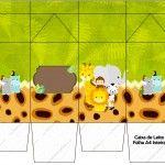 Caixa Leite Safari
