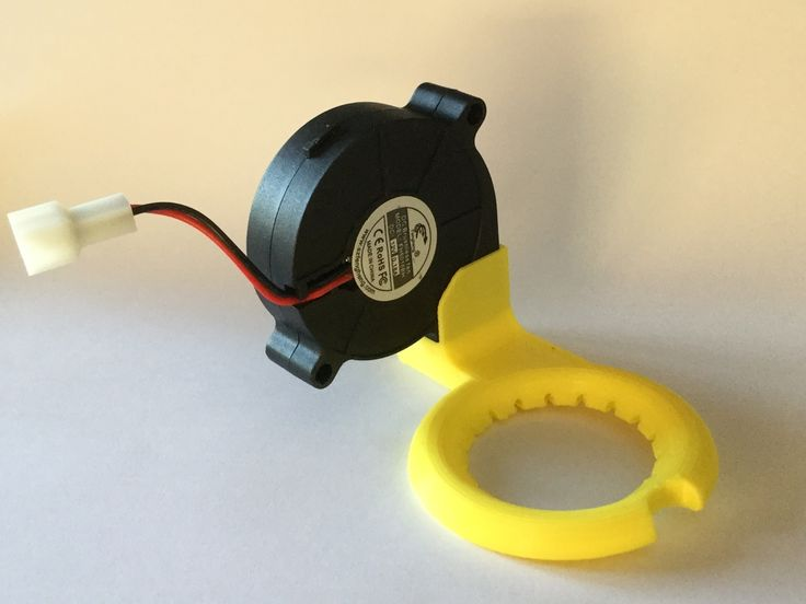 Nozzle fan with snapfit for 50mm blower fan. by esteevens.