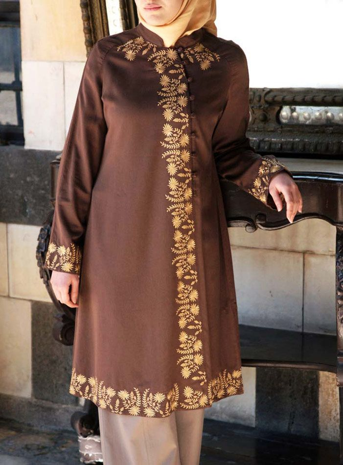 SHUKR USA   Calista Embroidered Blouse