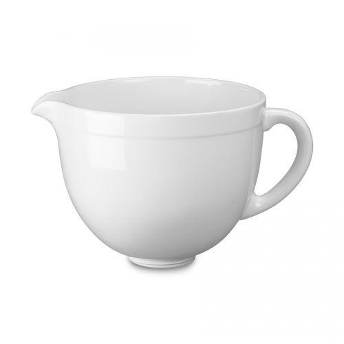 Keramikschüssel 4,8 l weiß für Artisan 4,8 l und Classic 4,3 l