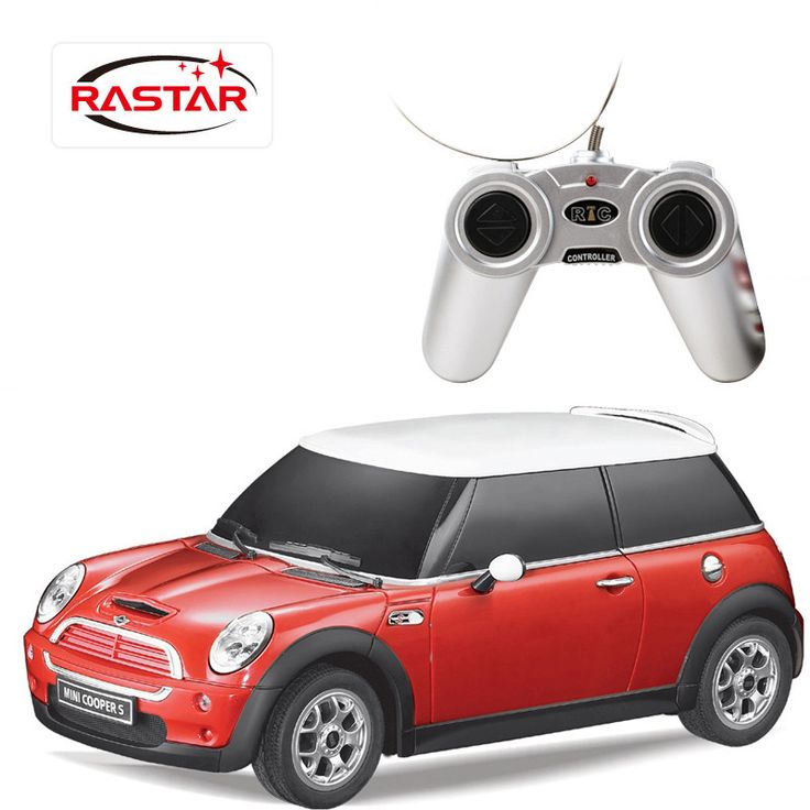 Rastar Mini Couper S 1/24 Remote Control RTR Electric RC Cars Toys Gift For Kids
