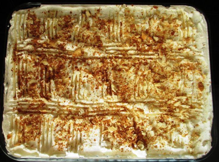 Μιλφέιγ ελαφρύ με κράκερς Ένα ελαφρύ, γρήγορο και γευστικότατο γλυκό, τύπου μιλφέιγ αλλά με κράκερς!!!