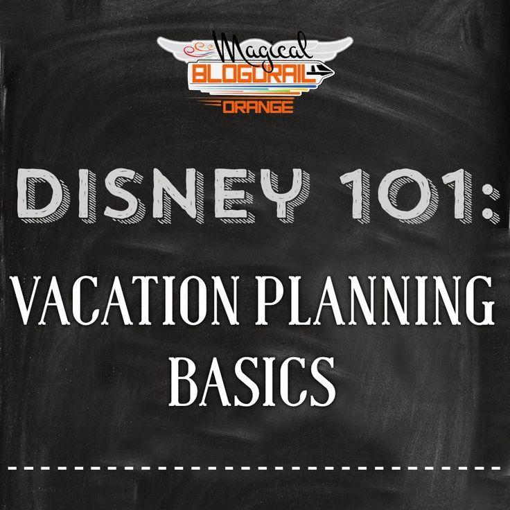 Disney Vacation Planning Basics