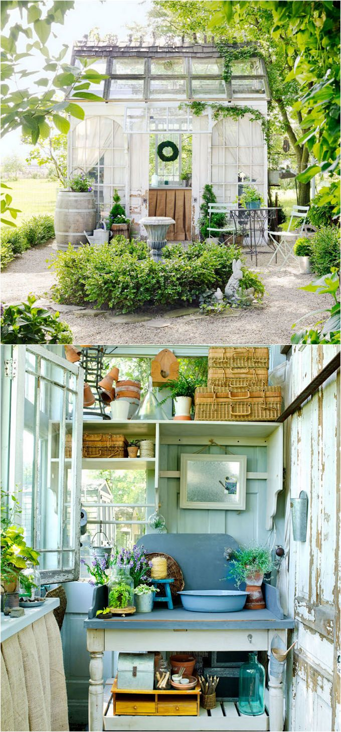 Diy Garden Shed Pinterest