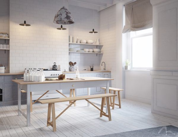 4 interiors that harmonise clutter using scandinavian style interiores pinterest scandinavian style clutter and interiors