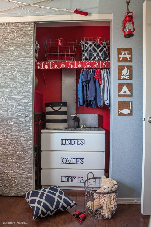 This Camping Themed Bedroom Makeover Will Make You Want To Be A Kid Again