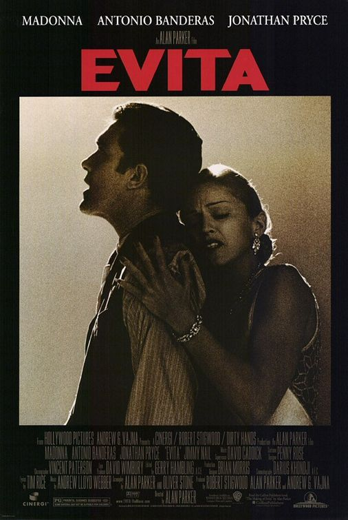 Image detail for -Evita Movie Poster - Internet Movie Poster Awards Gallery