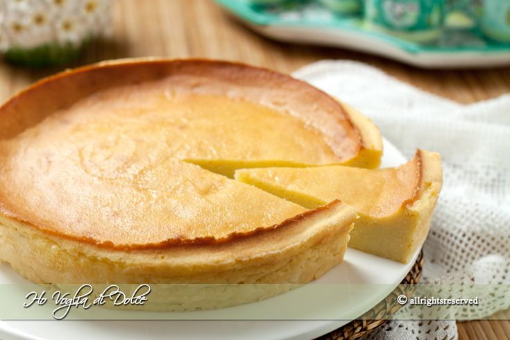 Il migliaccio ( torta di semolino ) ricetta napoletana