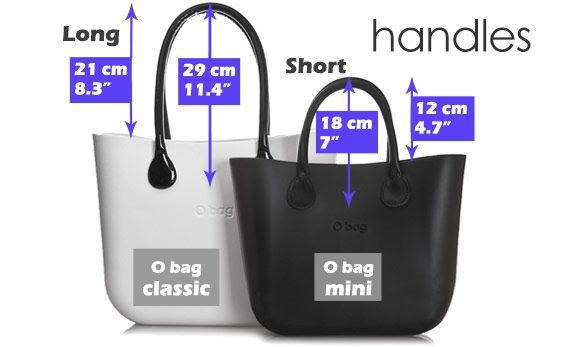 o bag handle lengths