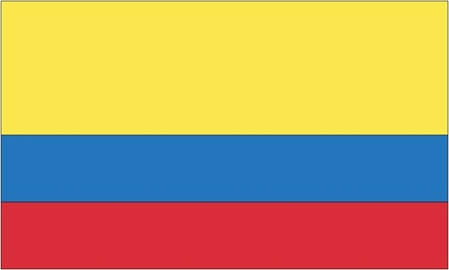 Our expertly crafted Flags of Colombia are unsurpassed in color, authenticity and craftsmanship. The designs are always in correct proportion to the flag size.