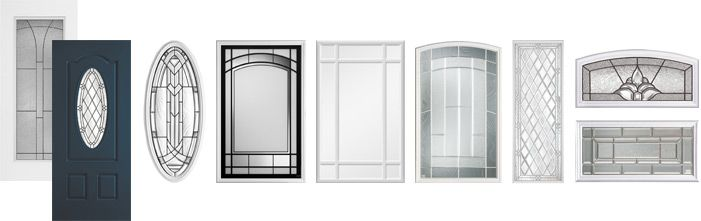 White Exterior Doors with Glass | Black door with oval glass panel ...