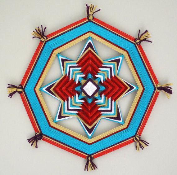 Colorful 'Ojo de Dios' Celebrate the Art of Handwoven Mandalas | http://yourartitude.com/en/design/colorful-ojo-de-dios-celebrate-the-art-of-handwoven-mandalas
