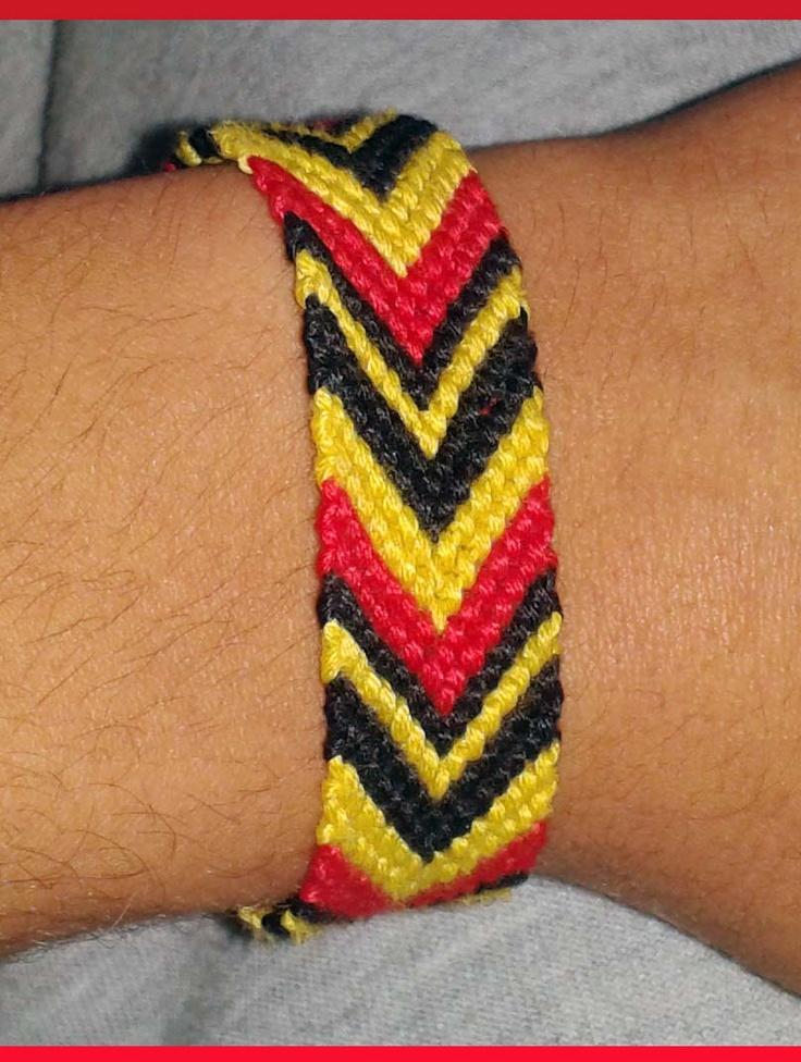 Galatasaray fan bracelet