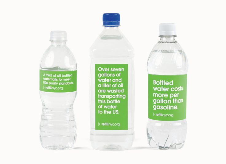 Refill NYC Bottle Labels