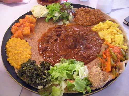 I heart Ethiopian food!!!!