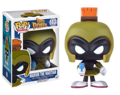 Funko-POP-Animation-Duck-Dodgers-MARVIN-THE-MARTIAN-Figure-Looney-Tunes