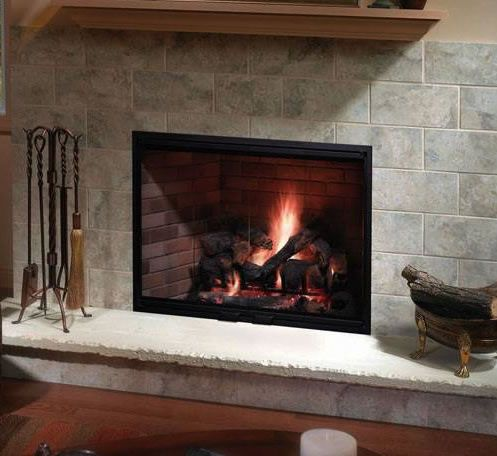 Heatilator Icon 80 42 Inch Wood Burning Fireplace Fireplaces Fireplace Wall And Great Rooms