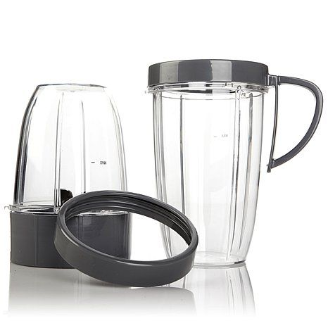 Shop NutriBullet Deluxe 5-piece Accessory Kit 7468570, read customer reviews and more at HSN.com.